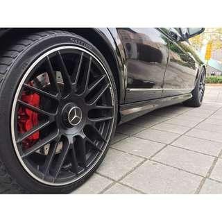 Benz  C300  3.0L  '08  黑
