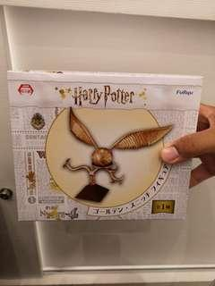 Limited Edition Harry Potter Golden Snitch with stand.