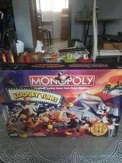 Looney Tunes Monopoly Used with pewter figures
