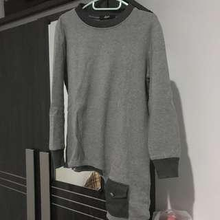 Asimetris sweatshirt