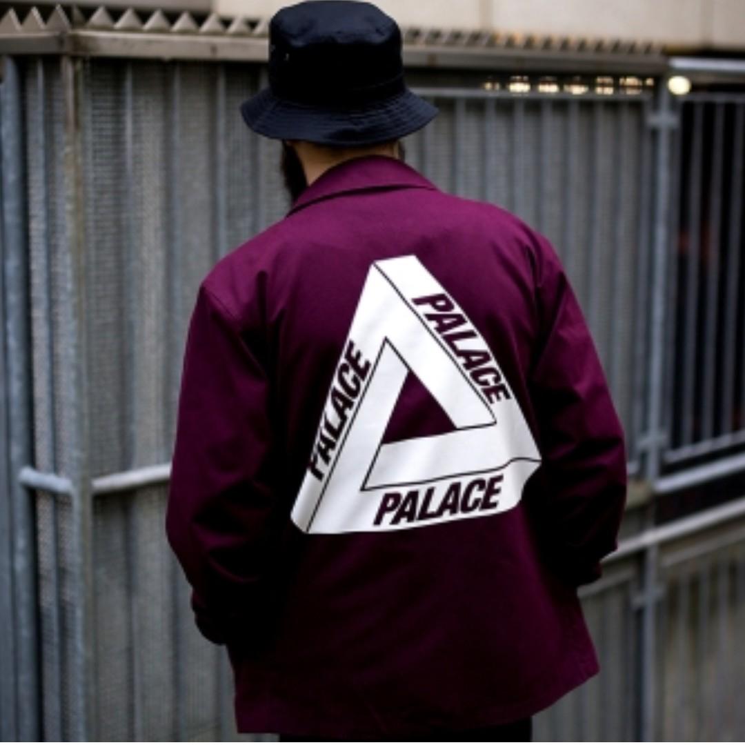 bbfea40023ad LIMITED) 2014 Palace OG Tri-Ferg Cotton Coach Jacket
