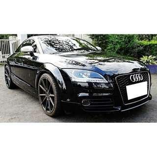Audi  TT  2.0L '08  黑