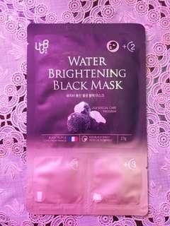 water brightening black mask UGB