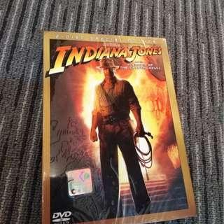 Indiana Jones and the king of crystal skull - original DVD