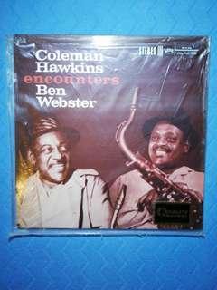COLEMAN HAWKINS ENCOUNTERS BEN WEBSTER sealed LP