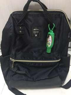 Authentic anello navy backpack