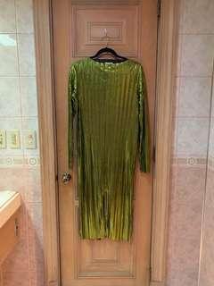 H&M Holiday Metallic Dress