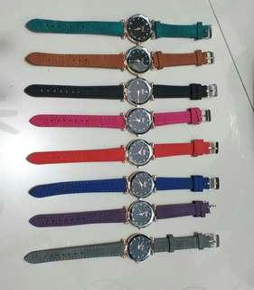 Jam tangan tali kulit
