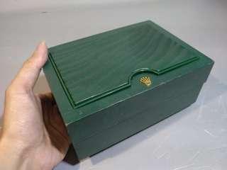 勞力士 Rolex box 錶盒 watch box 有錶枕 包含圖片中卡片和保用證等等