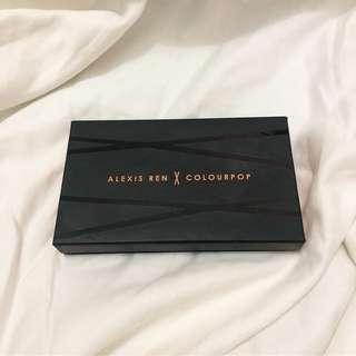Colourpop x Alexis Ren in Topaz (bronzer & highlighter palette)