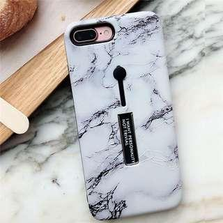 [instocks] iphone xr marble with bracket shell case