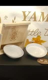 Little Twin Stars Kiki Lala 双子星 全新正版 Sanrio 公仔陶瓷 醬油碟 saucers