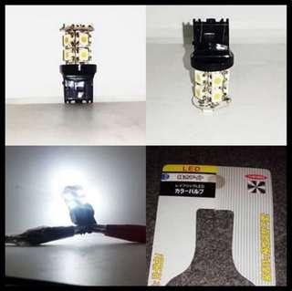Aksesoris Lampu LED Lamp T20 W21-5W Rem Senja Sein SMD 2 Kaki 13 Titik