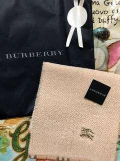 日本製 BURBERRY 方巾