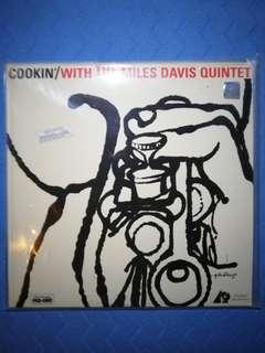 COOKIN' WITH THE MILES DAVIS QUINTET sealed LP
