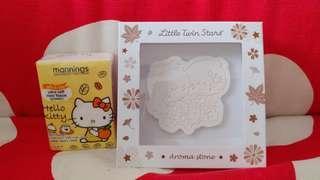 Little Twin Stars Kiki Lala 双子星 全新正版 公仔香薫石 Aroma Stone