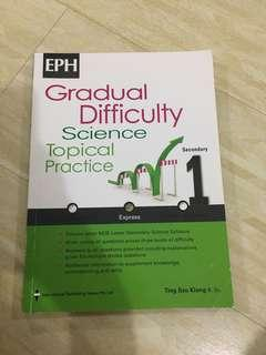 Gradual Difficulty Science Topical Practice for Secondary 1