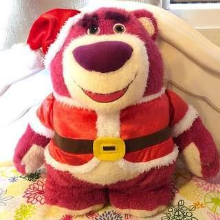 聖誕 勞蘇公仔 Lotso (有牌)