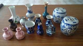 Minitiature ceramic vases for SALE!!