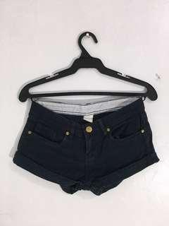 Sexy Dark Navy Blue Shorts