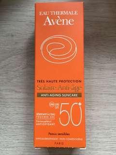 Brand new Avene aging suncare