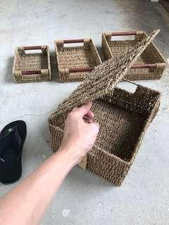 Ratten Baskets Containers Box