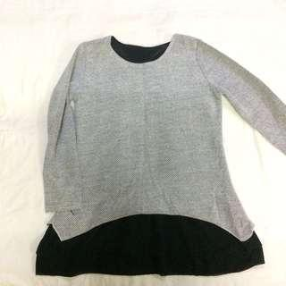 Knitted Top / Fake Two-piece Top