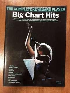Big Chart Hits Keyboard Scores
