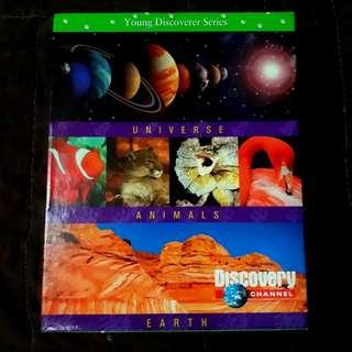 Discovery Channel's Young Discoverer Series - UNIVERSE • ANIMALS • EARTH bundle