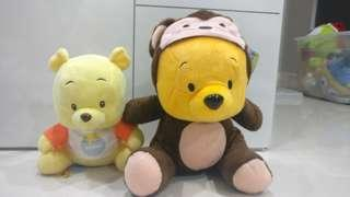 Pooh collection - baby monkey pooh and hunny baby pooh