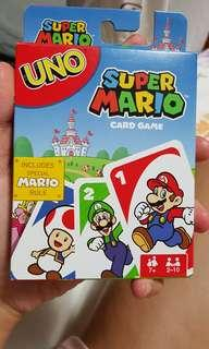 Brand new Super Mario Uno Card