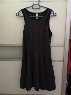 Dark Grey Dress