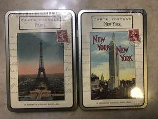 Moving Sales - brand new unopened cases of vintage post cards of New York and Paris