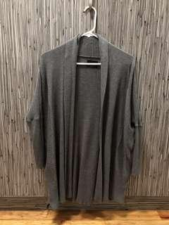 Zara Gray Knit Cardigan