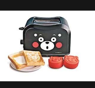 熊本熊多士爐 Kumamon特別版Toaster 連模具