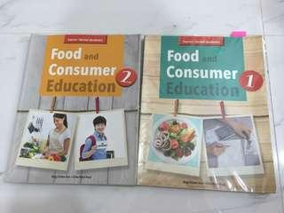 food and consumer education fce book 1 and 2 instock
