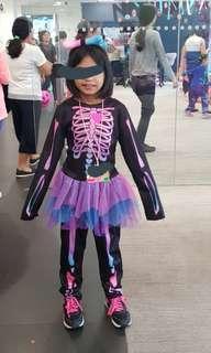 Candy Skeleton halloween costume girls