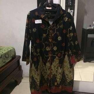 Baju Batik/Atasan Batik Big Size Jumbo Wanita #1