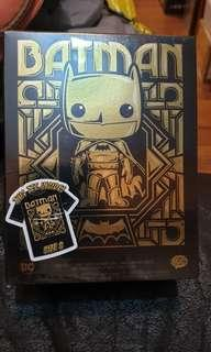 Funko pop gold chrome batman