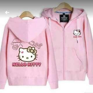 Hello kitty jacket with hood
