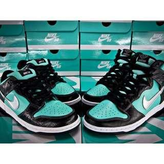 組合包 NIKE DUNK SB Tiffany Diamond Supply 鑽石 蒂芬妮 銀鉤 鱷魚紋 高低筒 合售 DMP PACK CLOT Jordan 1 11 KAWS SUPREME OG QS All Star FRAGMENT 藤原浩 閃電 Thunder