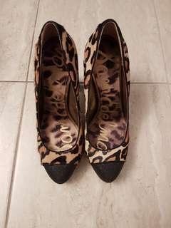 Sam Edelman Calf Fur Pumps 7.5