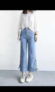 Shoelace Jeans
