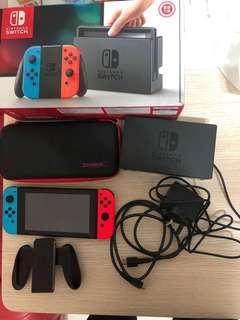 Nintendo switch 紅藍主機