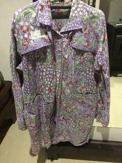 Baju Batik/Atasan Batik Big Size Jumbo Wanita #4