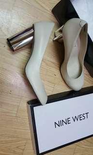 NINE WEST 高跟鞋 粗跟 尾牙