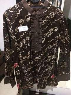 Baju Batik/Atasan Batik Big Size Jumbo Wanita #6