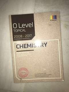 O LEVEL TOPICAL CHEMISTRY NO ANS SHEET