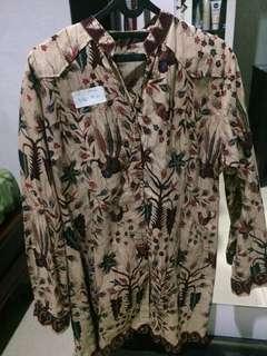 Baju Batik/Atasan Batik Big Size Jumbo Wanita #7