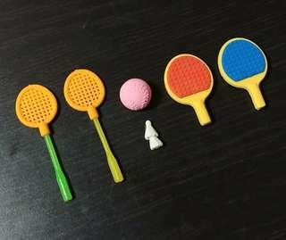 Sports Erasers